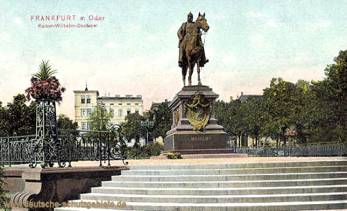 Frankfurt a. O., Kaiser Wilhelm-Denkmal
