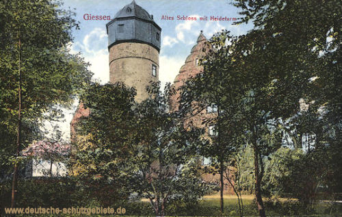 Giessen, Altes Schloss mit Heideturm