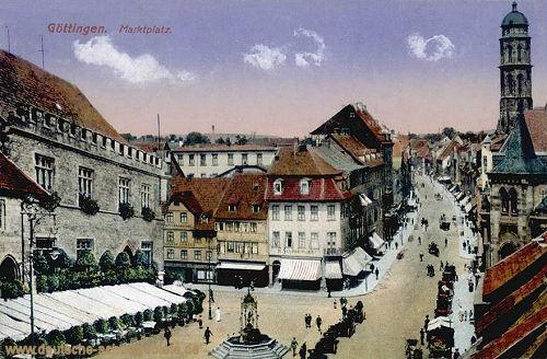 Göttingen, Marktplatz