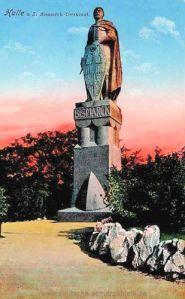 Halle. a. d. S., Bismarck-Denkmal
