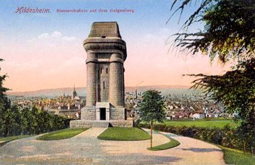 Hildesheim, Bismarcksäule auf dem Galgenberg