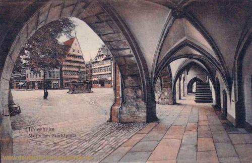Hildesheim, Motiv am Marktplatz