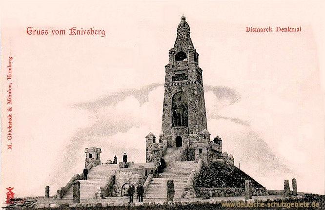 Knivsberg, Bismarck Denkmal