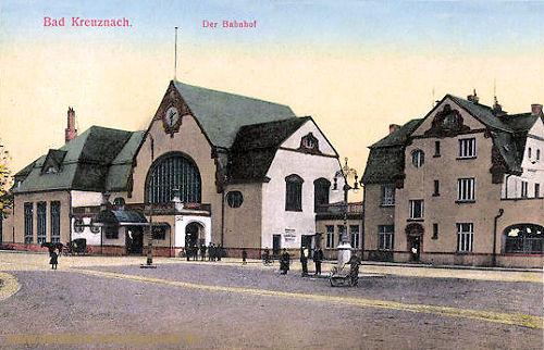 Bad Kreuznach, Bahnhof