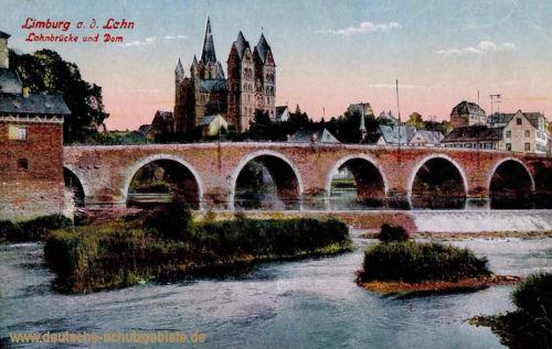 Limburg an der Lahn, Lahnbrücke und Dom
