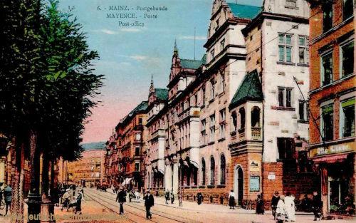 Mainz, Postgebäude