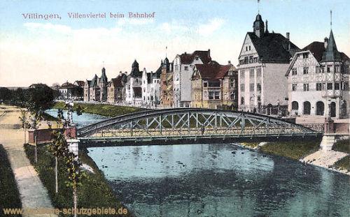 Villingen, Villenviertel beim Bahnhof