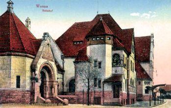 Worms, Bahnhof