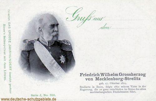 Friedrich Wilhelm Großherzog von Mecklenburg-Strelitz