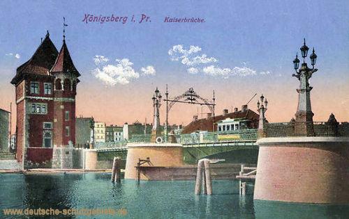 Königsberg i. P., Kaiserbrücke