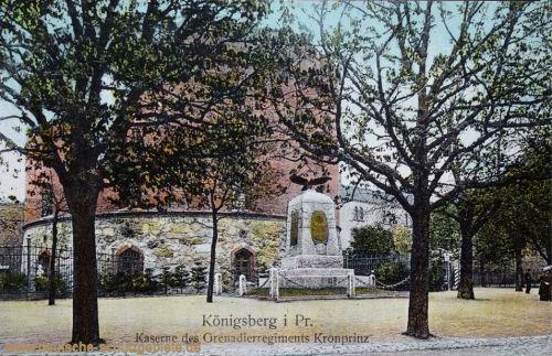 Königsberg i. P., Kaserne des Grenadierregiments Kronprinz