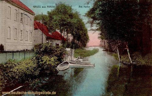 Mirow, Am Hafen