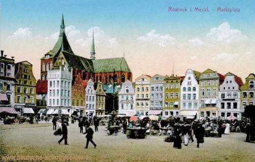 Rostock, Marktplatz