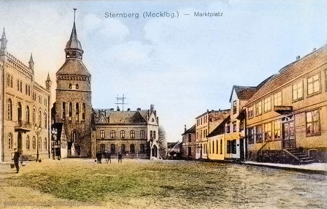 Sternberg (Mecklenburg), Marktplatz