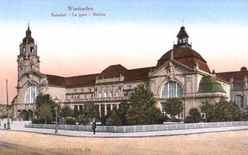 Wiesbaden, Bahnhof