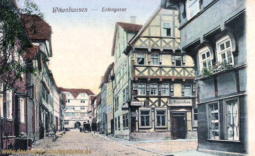 Witzenhausen, Entengasse