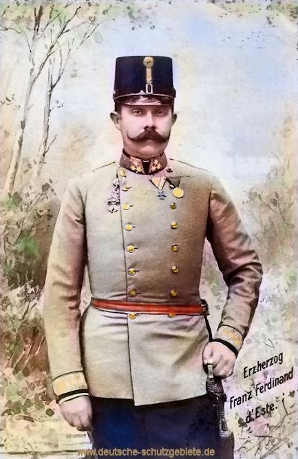 Erzherzog Franz Ferdinand d'Este