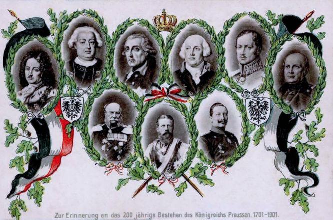 Zur Erinnerung an das 200 jährige Bestehen des Königreichs Preussen. 1701-1901.