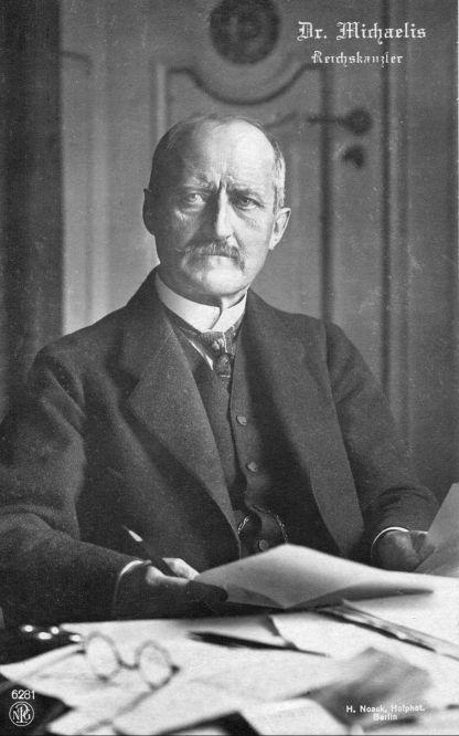 Dr. Michaelis, Reichskanzler