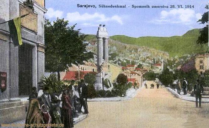 Sarajevo, Sühnedenkmal 28.VI.1914