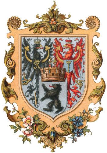 Berlin, Großes Wappen (im Kaiserreich)