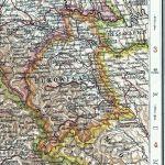 Bukowina, Landkarte 1914