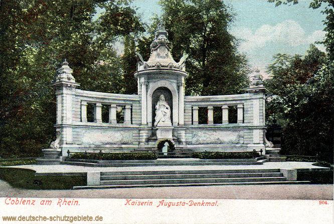 Coblenz am Rhein, Kaiserin Augusta-Denkmal