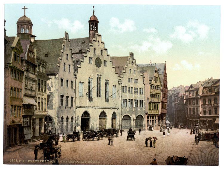 Frankfurt a. M. Römerberg mit Römer
