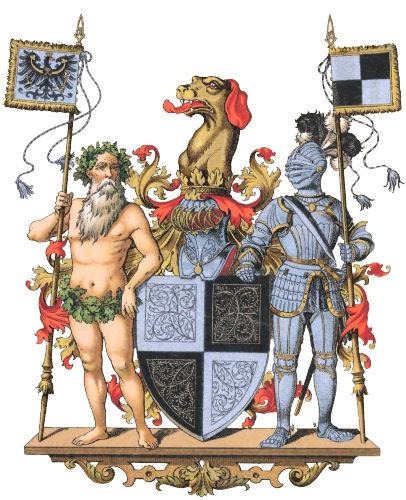 Hohenzollern, Großes Wappen