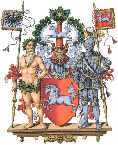 Provinz Hannover, Großes Wappen