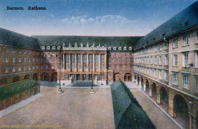 Barmen, Rathaus