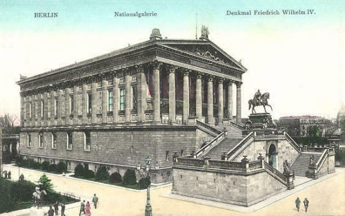 Berlin, Nationalgalerie, Denkmal Friedrich Wilhelm IV.