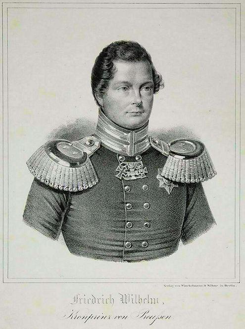 Friedrich Wilhelm Kronprinz von Preußen