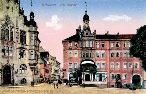 Helmstedt, Am Markt