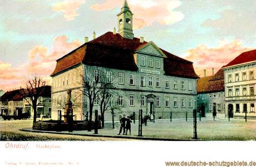 Ohrdruf, Marktplatz