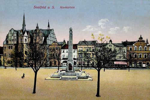Saalfeld, Marktplatz