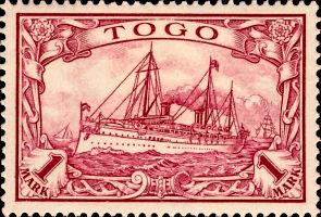 Togo Nr. 16, 1 Mark