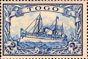 Togo Nr. 17, 2 Mark