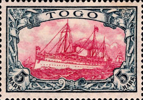 Togo Nr. 23, 5 Mark