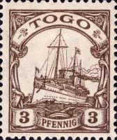 Togo Nr. 7, 3 Pfennig