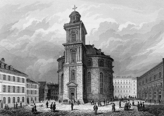 Die Paulskirche in Frankfurt a. M.