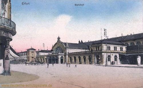 Erfurt, Bahnhof