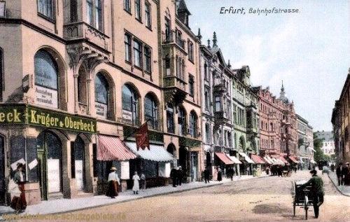 Erfurt, Bahnhofstraße
