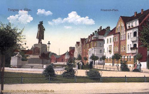 Torgau an der Elbe, Friedrich-Platz