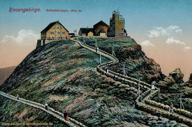 Riesengebirge. Schneekoppe, 1605 m