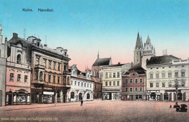 Kolin in Böhmen, Náměstí (Marktplatz)