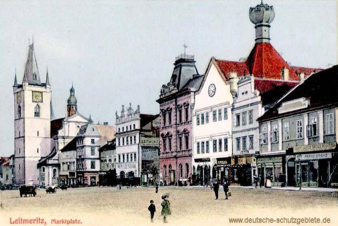 Leitmeritz, Marktplatz