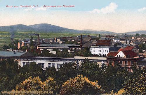 Neustadt, Oberschlesien, Panorama von Neustadt