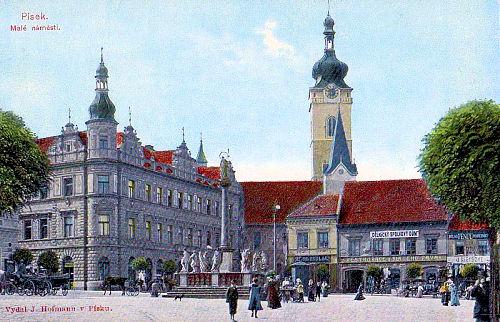 Pisek, Kleiner Marktplatz