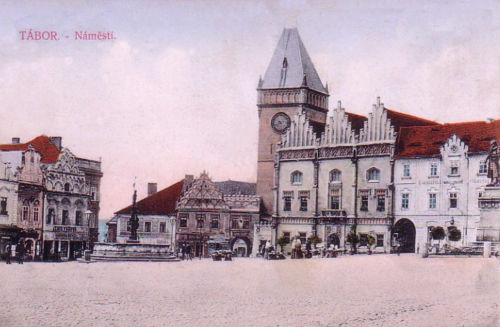 Tábor, Náměstí (Marktplatz)
